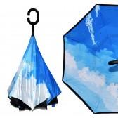 """Зонт наоборот """"Летнее небо"""""""