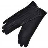 Перчатки женские, трикотажные -11