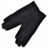 Перчатки женские, трикотажные -12