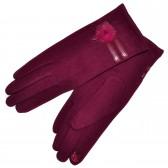 Женские перчатки для сенсорных экранов -03