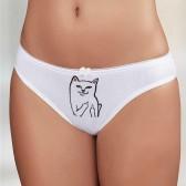 """Трусы женские с рисунком """"Fack Cat"""""""