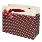 """Пакет подарочный """"Нежность"""" (red, 23x18)"""