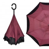 """Зонт наоборот """"Pasio"""", бордовый"""