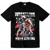 "Футболка ""Wrestling Born Strong"""