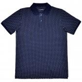 "Рубашка поло тёмно-синяя ""Горох"" (Samo)"