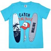 """Футболка детская """"Catch The Wave"""" для мальчика"""