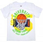 """Футболка детская """"University Basketball Team"""" для мальчика"""
