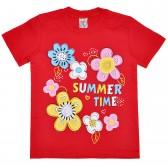 """Футболка детская """"Summer Time"""" для девочки"""