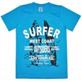 """Футболка детская """"Surfer West Coast"""" для мальчика"""