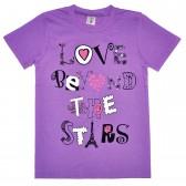 "Футболка детская ""Love Beyond The Stars"" для девочки"