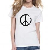 "Футболка женская с эмблемой ""Пацифик"" (Peace&Love)"