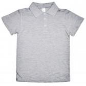 """Рубашка-Поло подростковая """"Fresh"""" (серый)"""