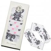 """Носки женские """"Pe.Chitto"""", упаковка 3 пары (зайка)"""