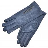 Перчатки женские, трикотажные -16 (l-blue)