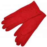 Перчатки женские, трикотажные -32