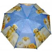 """Зонт детский """"Собаки и подсолнух"""""""
