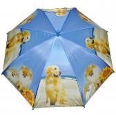 """Зонт детский """"Собаки и подсолнух"""" -2"""