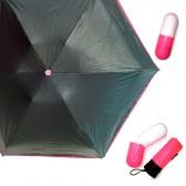 Зонт капсула, розовый
