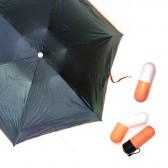 Зонт капсула, оранжевый