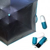 Зонт капсула, бирюзовый