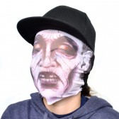 "Маска для хэллоуина ""Zombie Pink Eyes"""