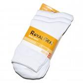 """Носки мужские """"Royal Gem"""" комплект 3 пары (белого цвета)"""