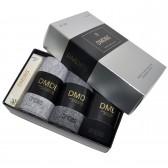 """Носки мужские ароматизированные """"DMDBS"""" с подарком, упаковка 3 пары"""