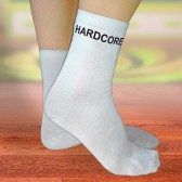 """Носки женские с надписью """"HardCore"""""""