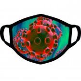 """Маска от вирусов с рисунком """"Virus Negative """""""