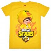 "Футболка подростковая ""Brawl Stars - Duck"" (желтый)"