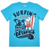 """Футболка детская """"Surfing waves"""" для мальчика"""