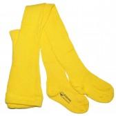 """Колготки детские, трикотажные """"Edelweiss"""" (желтый)"""