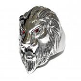 """Кольцо-печатка """"Голова льва"""""""