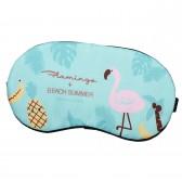 """Маска для сна """"Flamingo"""" (бирюзовый)"""
