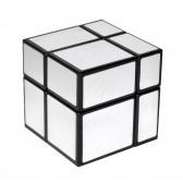 Зеркальный кубик Рубика, 2х2 silver (No. 563)