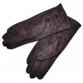 Перчатки женские для сенсорных экранов -1 (brown)