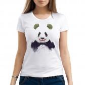 """Футболка с принтом, женская """"Счастливая панда"""""""