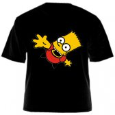 "Футболка ""Симпсоны (Bart Simpson - Барт Симпсон)"""