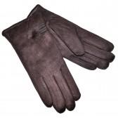 Перчатки женские, трикотажные -47 (коричневый)