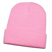 Шапка женская, розовая