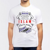 "Футболка мужская ""If your name is Islam, you are pretty…"""