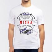 "Футболка мужская ""If your name is Misha, you are pretty…"""