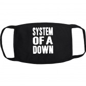 """Маска на лицо от вирусов """"System of a Down"""" (многоразовая)"""