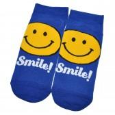 "Носки женские, короткие ""Smile"" (темно-синий)"