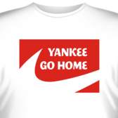 "Футболка ""YANKEE GO HOME"""