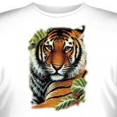 Футболка Art_Brands «Tiger» (Тигр в листьях, 10134)
