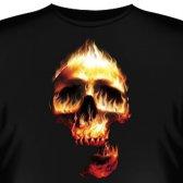 Футболка Art_Brands «Fire Skull» (Горящий череп, 10290)