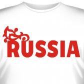"Футболка ""Russia"" (Россия) (1)"