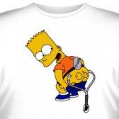 """Футболка """"Bart Simpson -1"""""""