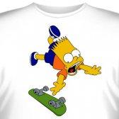 """Футболка """"Bart Simpson -7"""""""